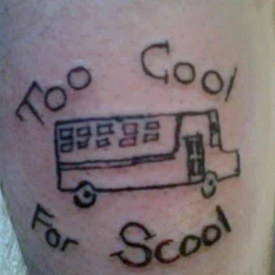 Awful tattoo