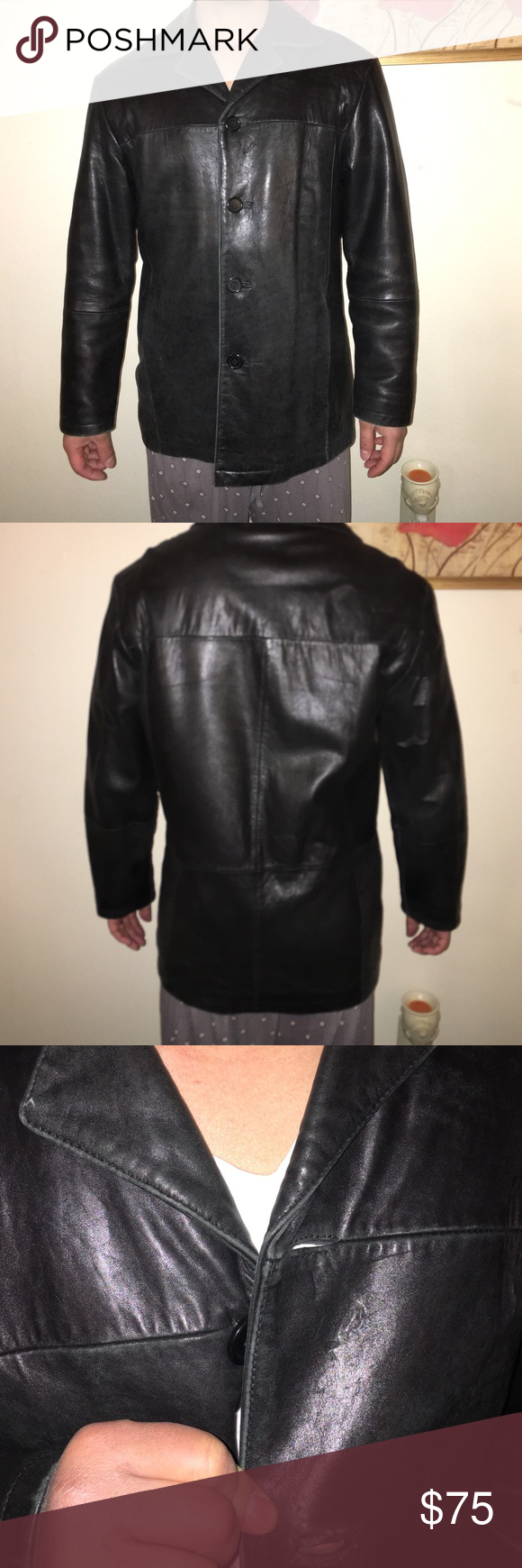 Wilson suede coat size Large ( vintage) Great vintage