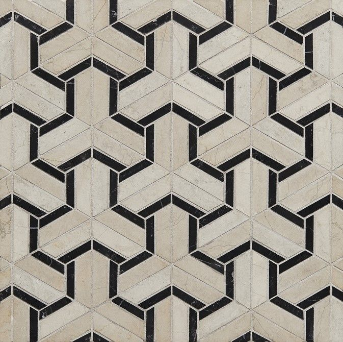 Maze From The Art Deco Collection At Claybrook Mosaictiles