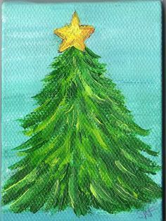 Christmas canvas on Pinterest | Christmas Paintings, Canvases and ...