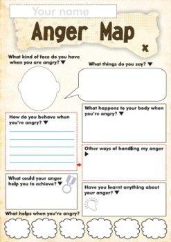 Free Anger and Feelings Worksheets for Kids   Worksheets, Feelings ...