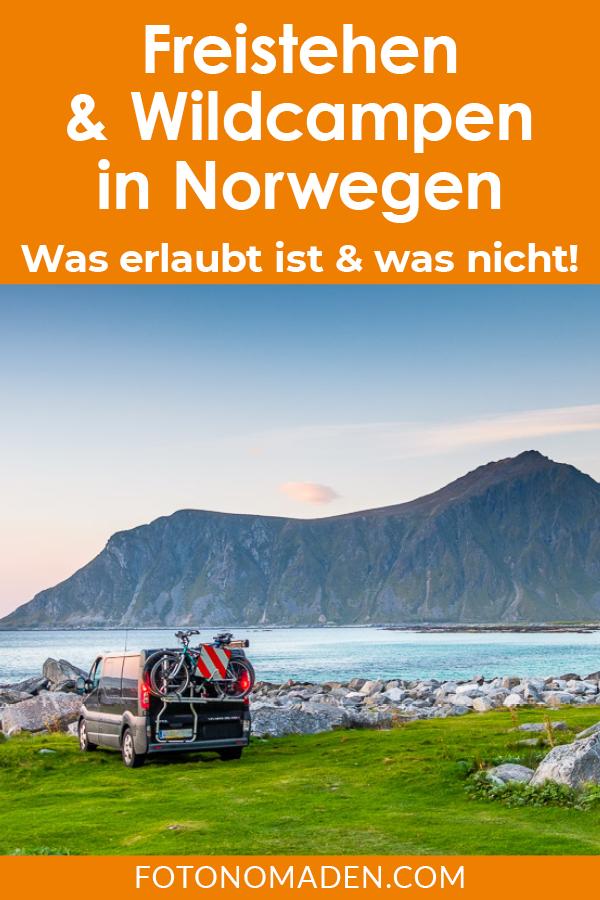 Photo of Freistehen, Wildcampen & Campen in Norwegen   FOTONOMADEN.COM