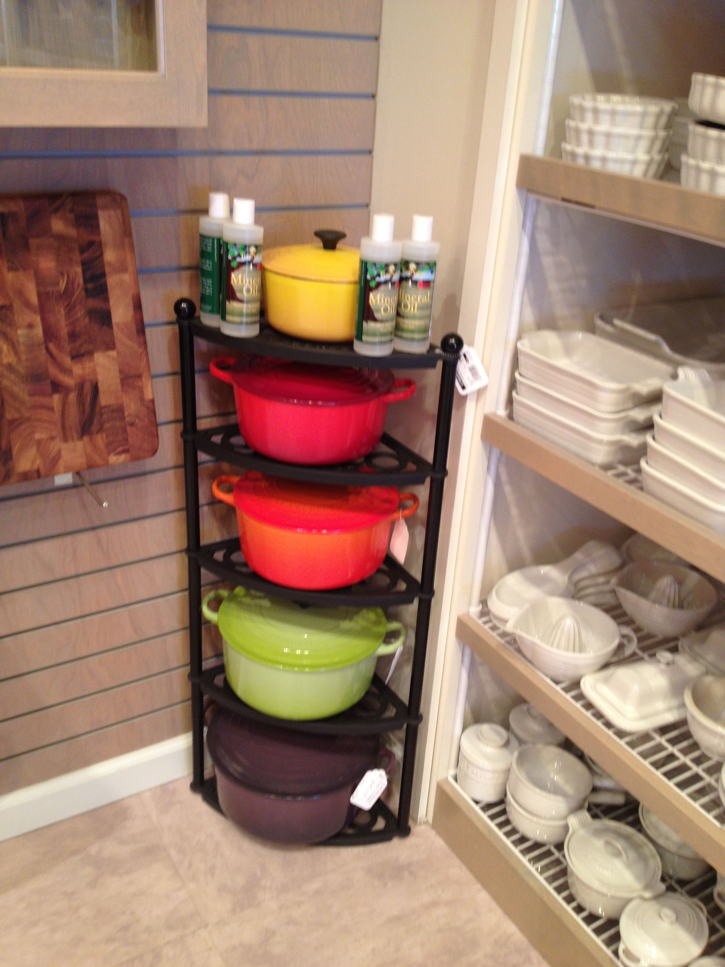 Le Creuset Storage Rack New House Designs
