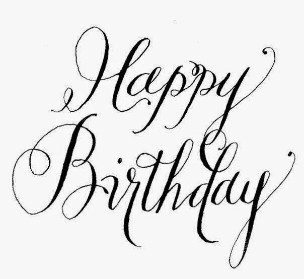 Happy Birthday Cursive Writing Happy Birthday Calligraphy Happy Birthday In Cursive Fancy Writing
