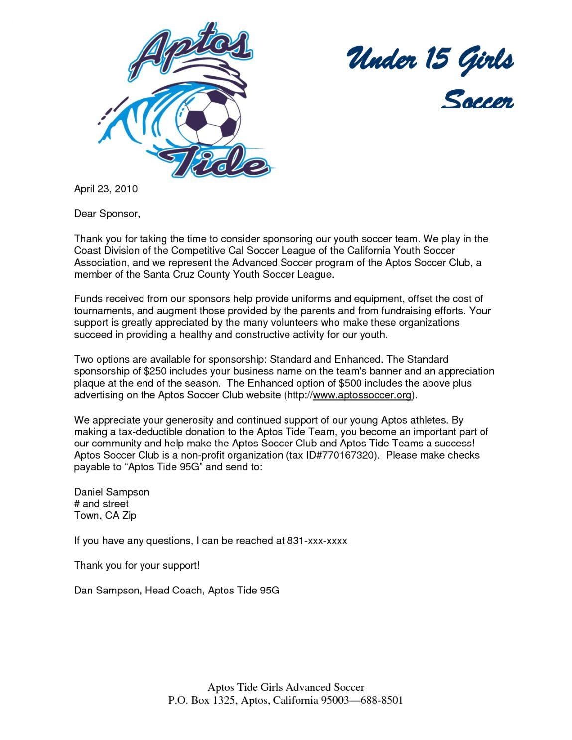 Editable 283945998ad376fdab79f462ac42d9d2 1275 1650 Sports Team Fundraising Letter Word Sponsorship Letter Donation Letter Fundraising Letter