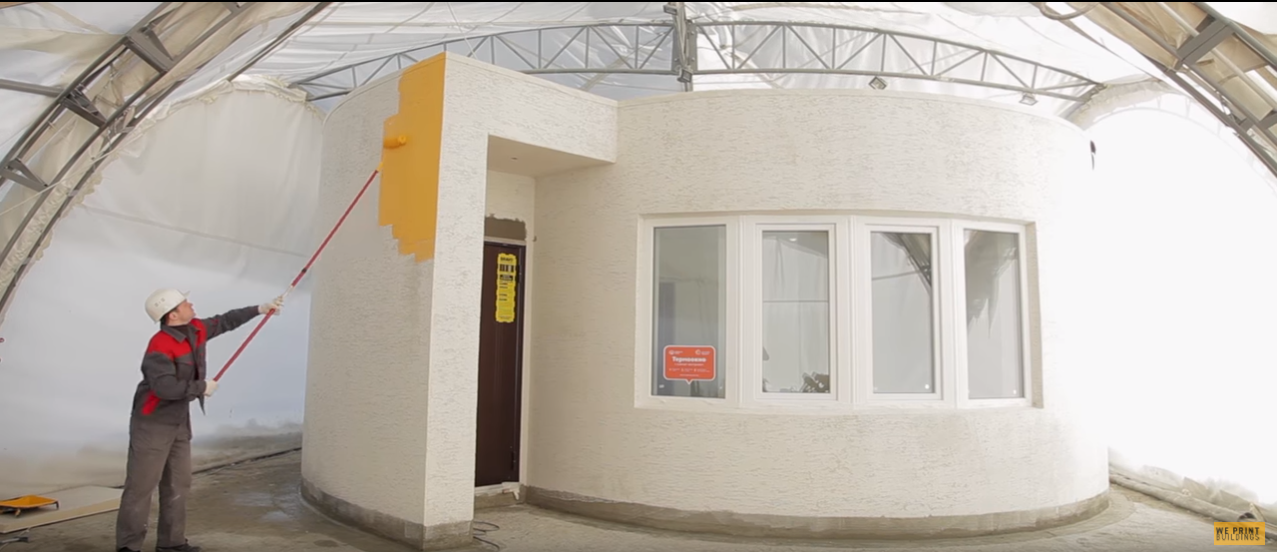 This 3 D Printed Home Was Built in Just