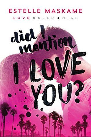Sneak A Peek Did I Mention I Love You Dimily 1 Giveaway Books For Teens Ya Book Review Love You