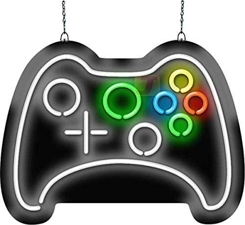 Amazon Com Game Controller Neon Sign Kitchen Dining In 2020 Neon Signs Game Controller Control