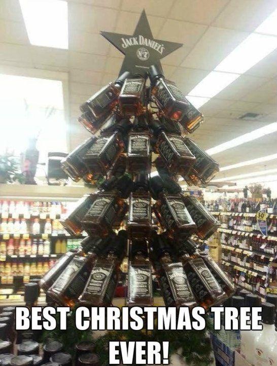 Best Christmas Tree Ever Www Meme Lol Com Cool Christmas Trees Jack Daniels Christmas Tree