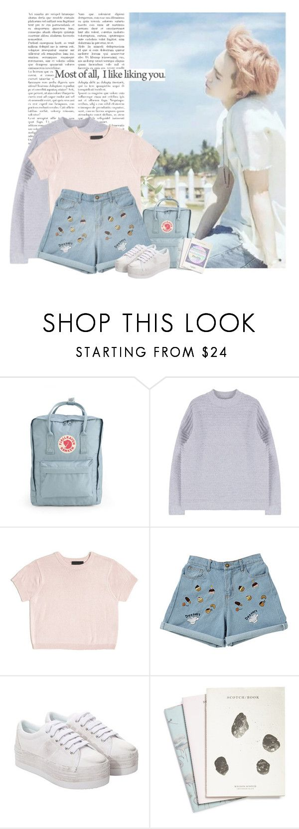 """""""Suga: most of all, i like liking you"""" by yxing ❤ liked on Polyvore featuring Fjällräven, Cynthia Rowley, Jeffrey Campbell, Maison Scotch, Tag, kpop, Suga, bangtan and Yusss"""