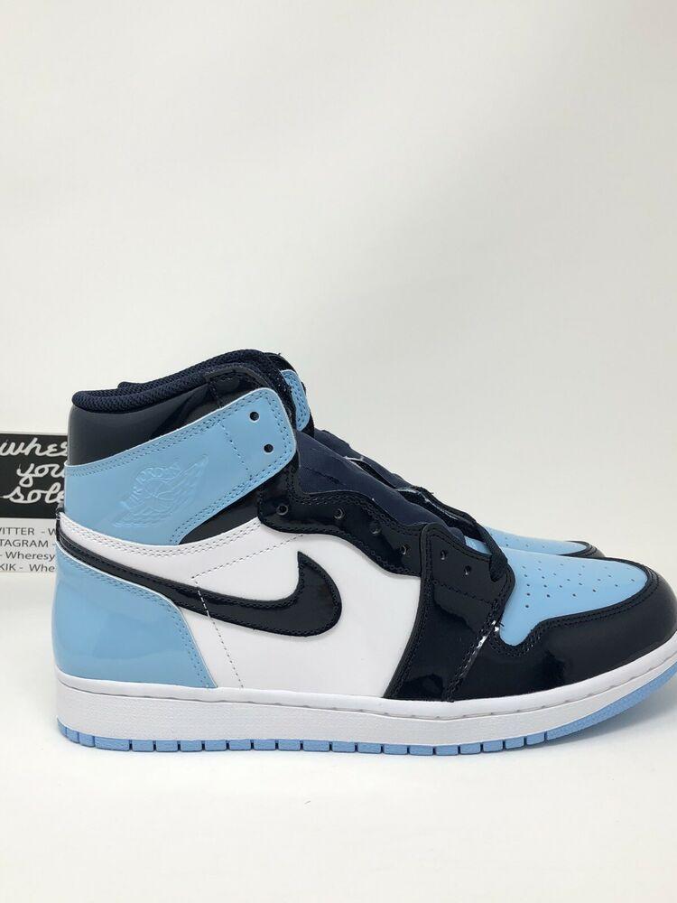 d64c3aa559457 Nike Air Jordan One 1 Blue Chill UNC Womens Size 9 Men 7.5 High ...