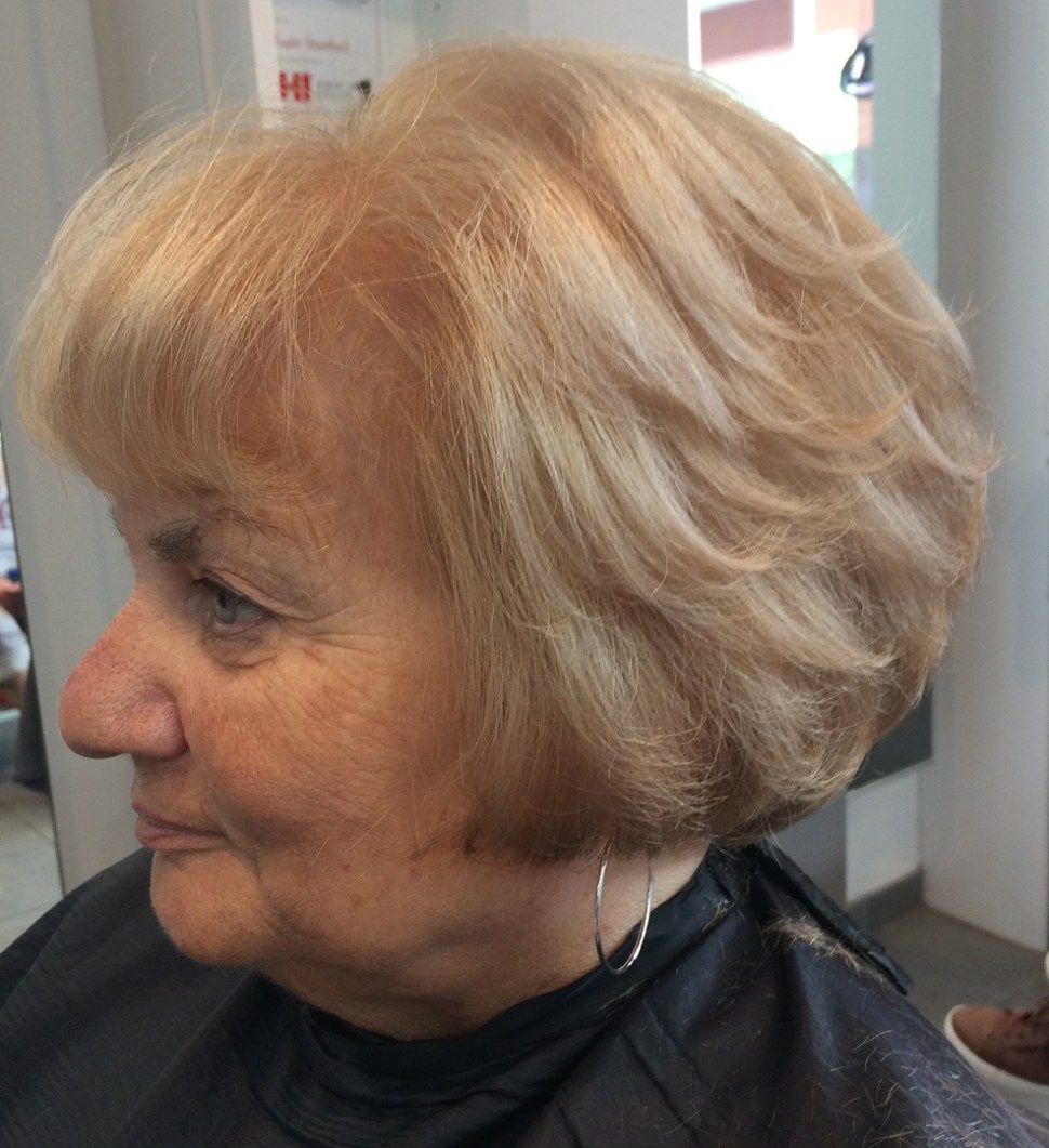 The Best Hairstyles And Haircuts For Women Over 70 Cool Hairstyles Strawberry Blonde Bob Strawberry Blonde