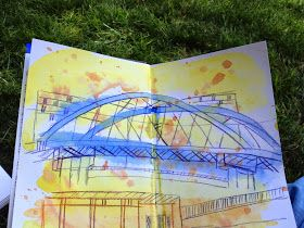 Urban Sketchers: Reflections of a beginning urban sketcher......or what I wish someone had told me at the start of the year.