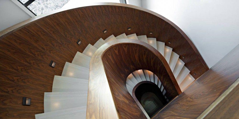 Jelenovac Residence Dva Arhitekta Minimalist House Design Stairs Architecture Wooden Staircases