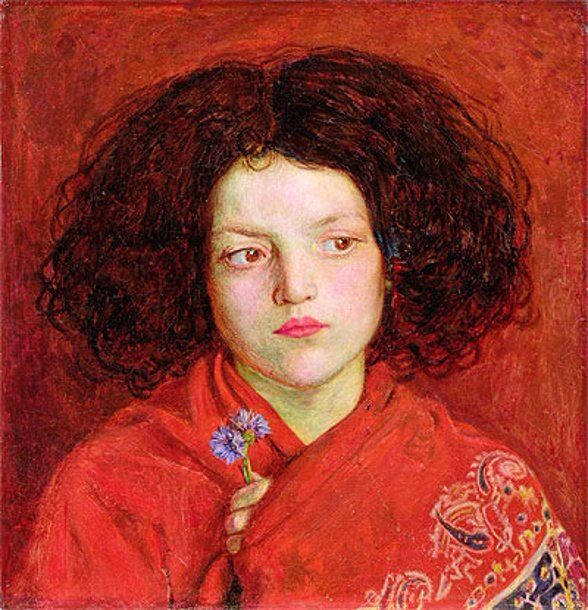 Ford Madox Brown : The Irish Girl 1860 Giclee   Etsy