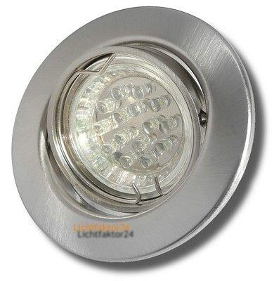 Deckenspots Led 10 x led einbaustrahler tomas 230 volt downlights 1 5watt hochvolt