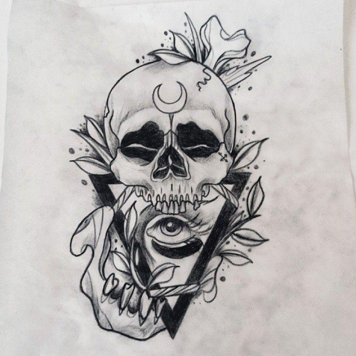 illuminati pyramide tattoo - recherche google | skull | pinterest