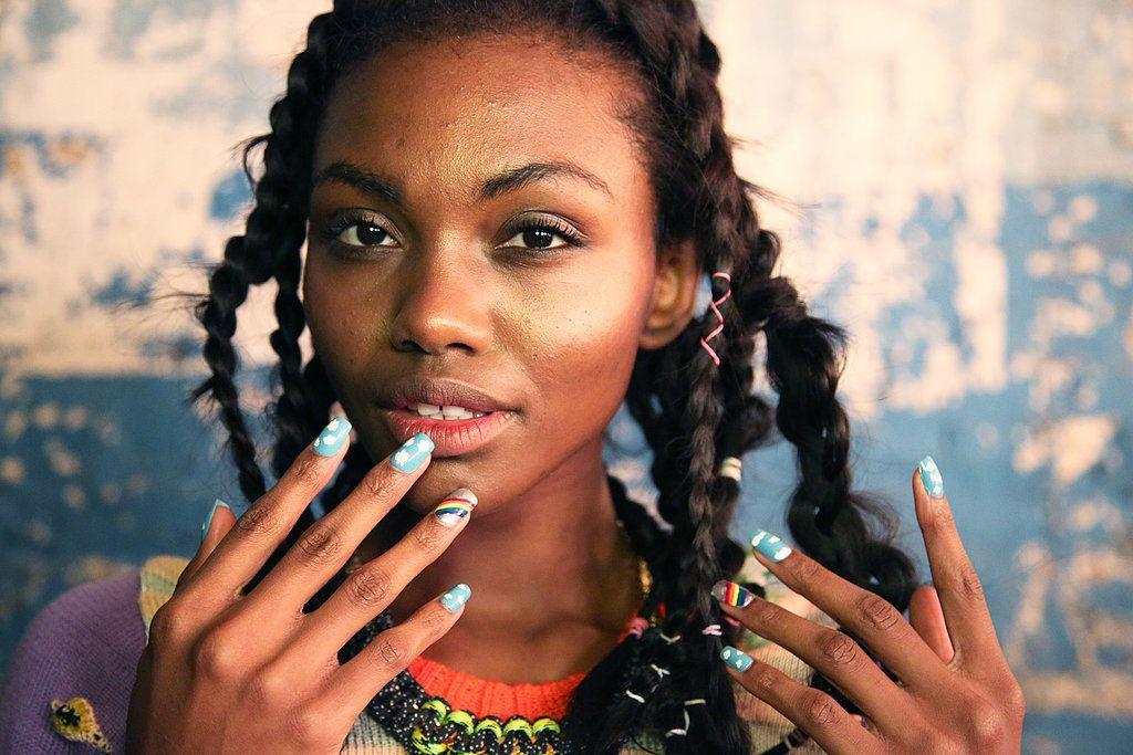 Degen Fall 2014 | Rainbow nail art, Accent nails and OPI