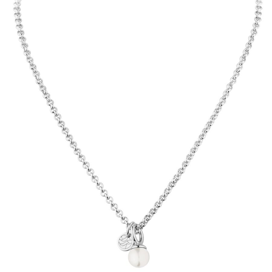 00318a8a2ce2 Carla Pearl Pendant by DYRBERG KERN. Carla faux pearl pendant with silver  tone finish. Presented with signature gift packaging.