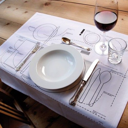 emily post    the proper way to set the table   everyone must know this!