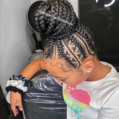 39 Lovely African Braids Hairstyles For Black Women In Style 2020 In 2020 Black Girl Braided Hairstyles Kids Braided Hairstyles African Braids Hairstyles