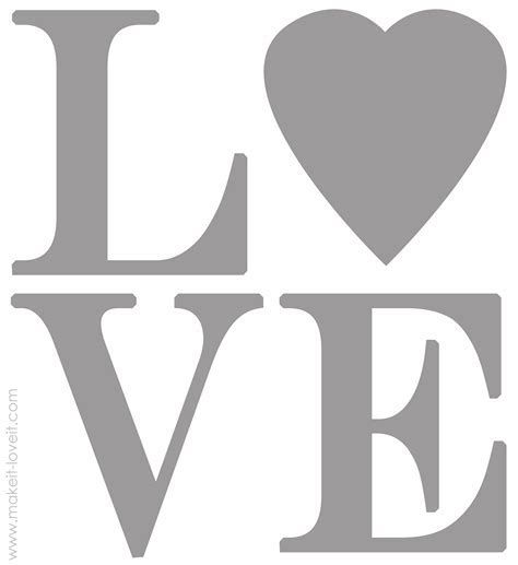 Image result for Printable Word Stencils Designs Stencils