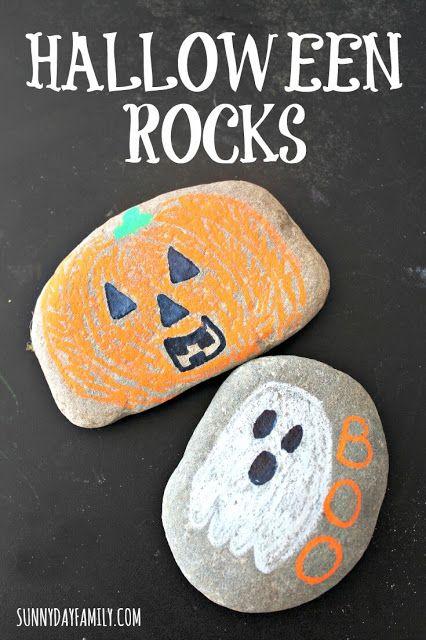 Halloween Rocks Chalk Marker Halloween Decorations Fun halloween - fun and easy halloween decorations