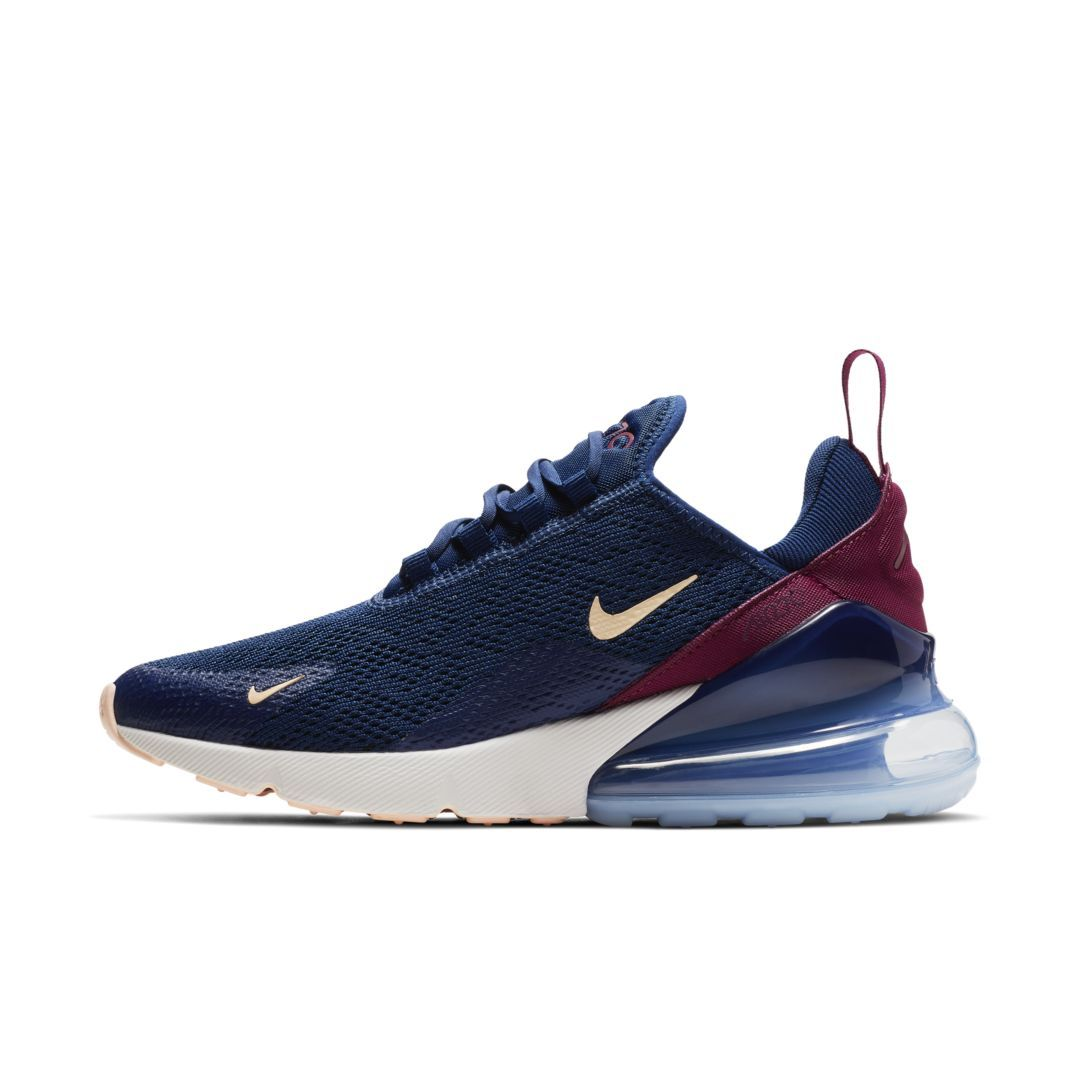 Nike Air Max 270 Women's Shoe Size 12 (Blue Void) | Nike