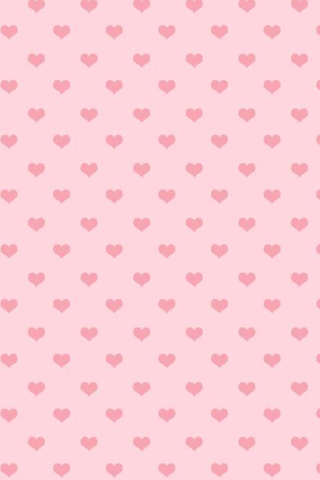 Pink Cute Hearts Iphone Wallpaper Pastel Polka Dots Cool
