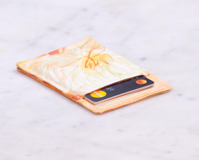 OOAK Thin wallet - Minimalist wallet - Business card holder ...