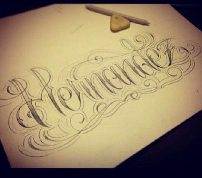 My Last Name Craving Ink Tatuajes De Apellido Tatuajes De