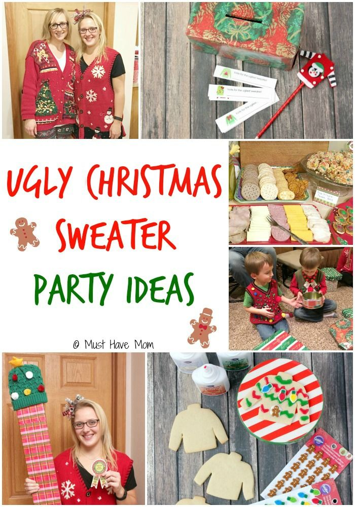 Christmas Party Hosting Ideas Part - 19: How To Host An Ugly Christmas Sweater Party
