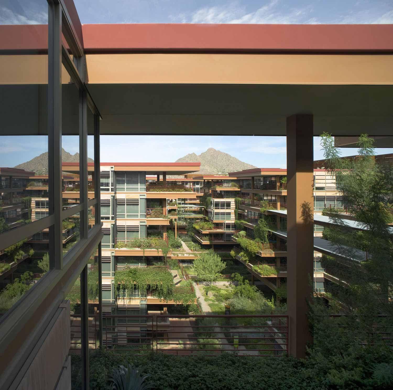 Vertical Farming Chicago: Optima Camelview Village