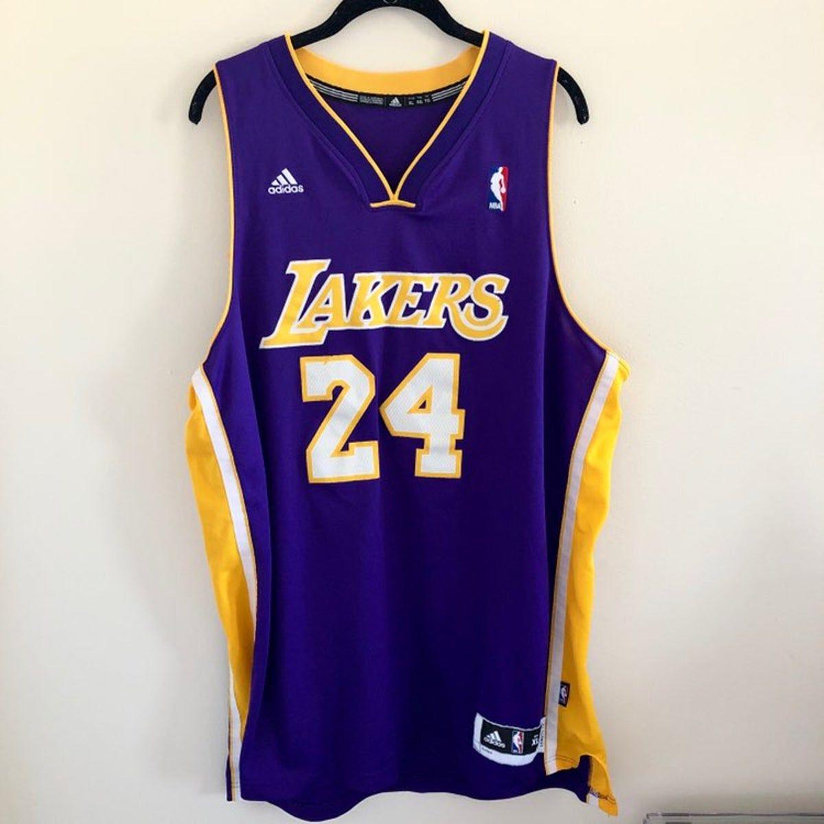Adidas NBA Kobe Bryant Lakers Jersey | Kobe bryant, Jersey outfit ...