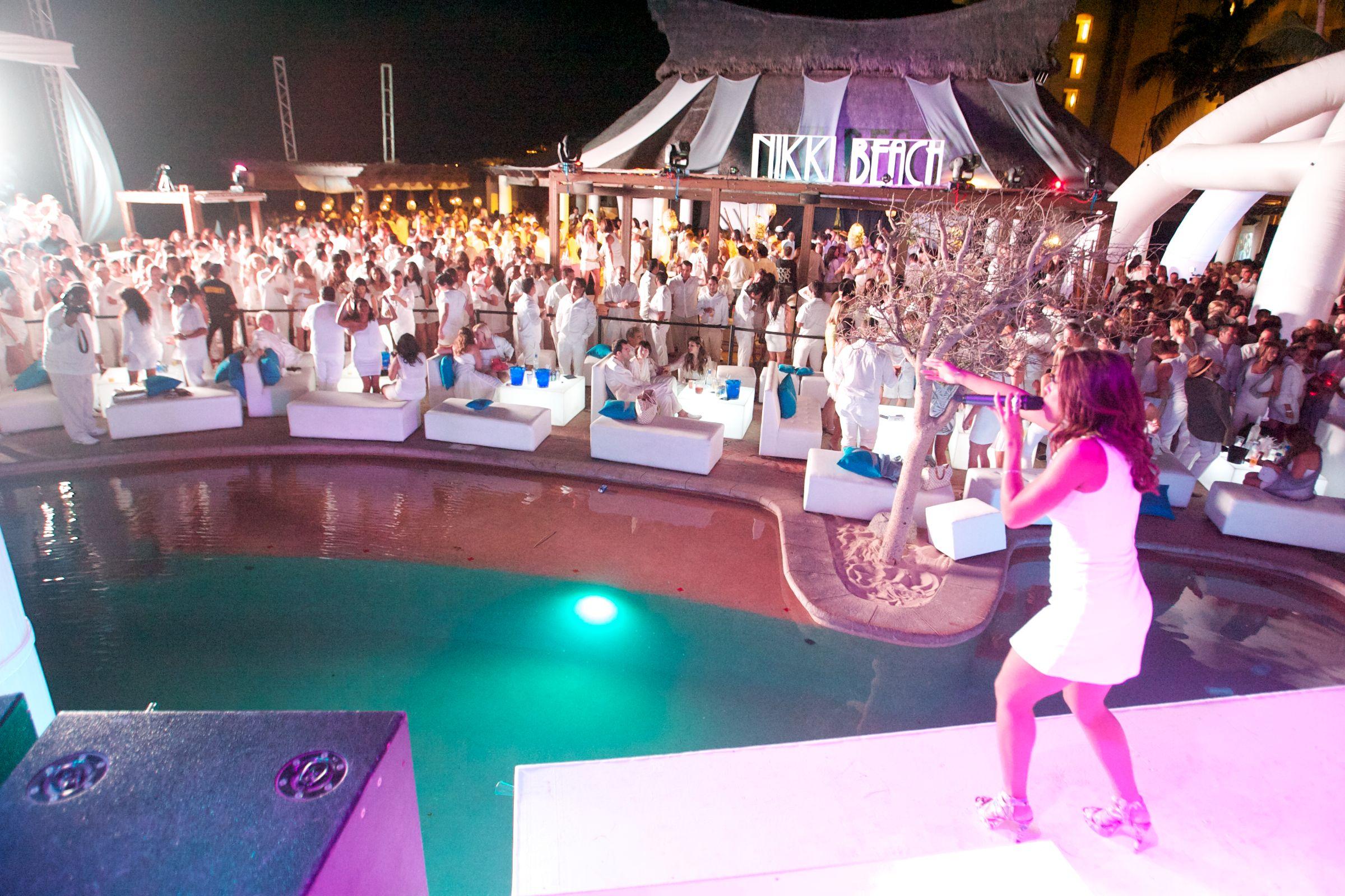 White Party At Nikki Beach Cabo San Lucas