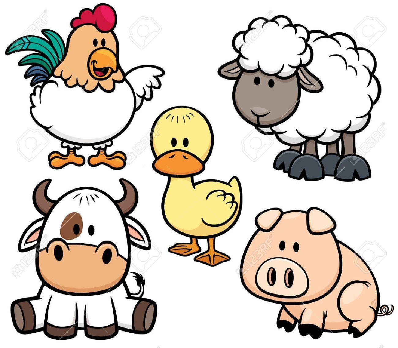 Resultado De Imagen Para Animales Dela Granja Animales De Granja Animados Granja Dibujo Animales Animados