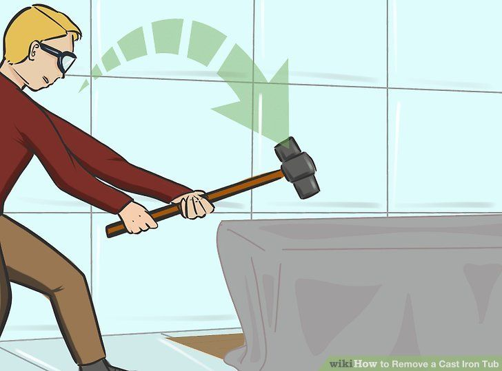 How to remove a cast iron tub cast iron tub cast iron
