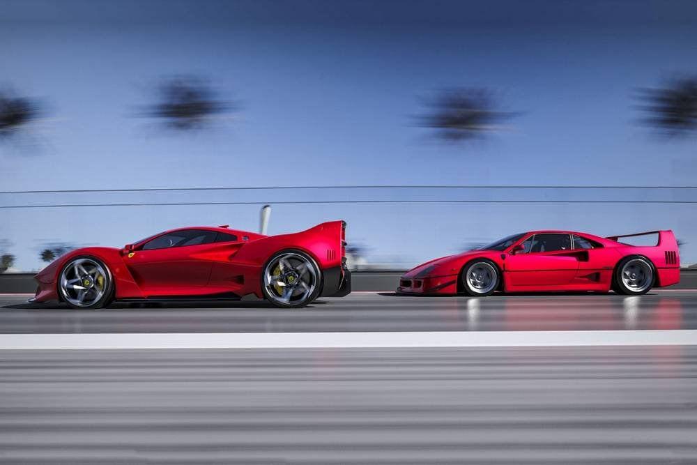 Ferrari F40 Tribute Concept Ferrari F40 Ferrari
