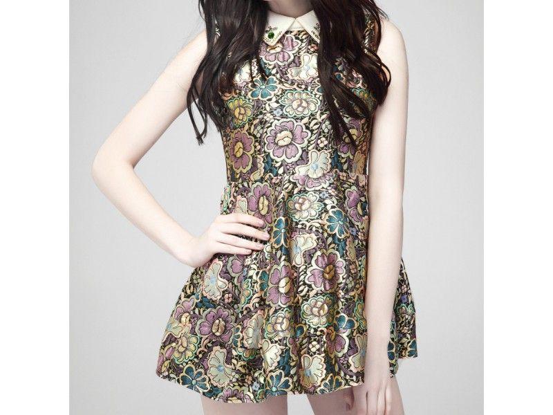 Dark Fleur de Cru #Dress