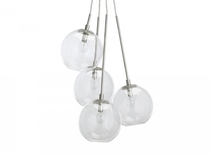 10 Easy Pieces: Modern Glass Globe Chandeliers