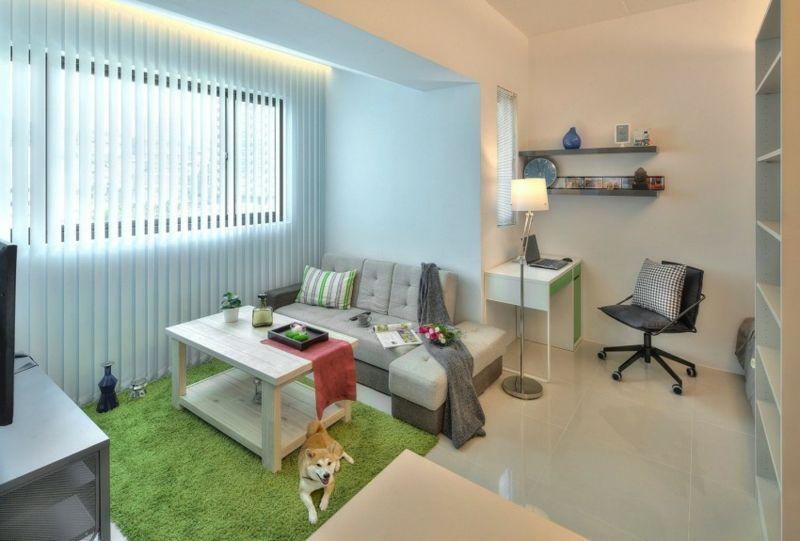 1 Zimmer Wohnung einrichten - 13 Apartments als Inspiration ...
