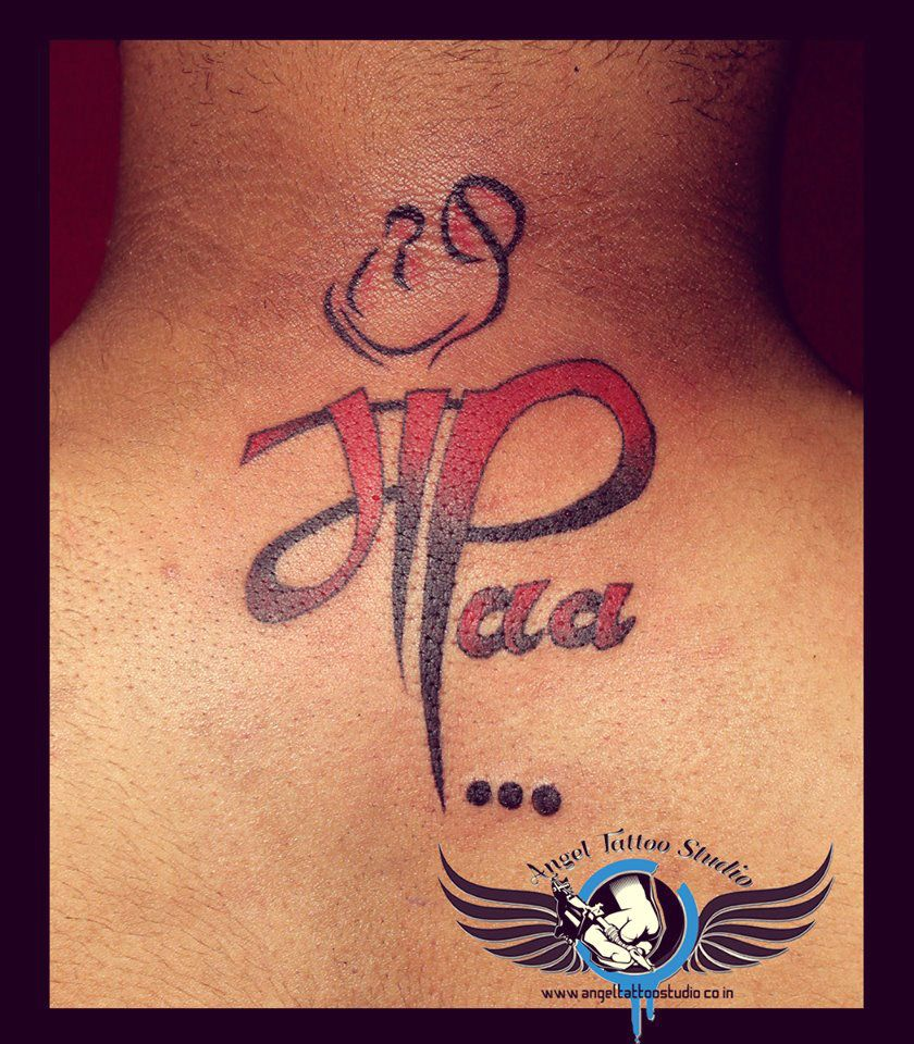 maa paa tattoo angel tattoo studio pinterest maa paa tattoo tattoo and tatoos. Black Bedroom Furniture Sets. Home Design Ideas