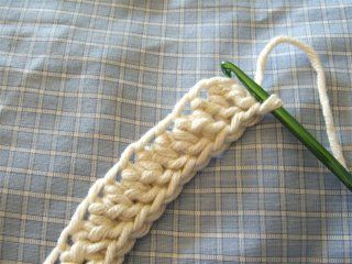crochet first row without a foundation row.