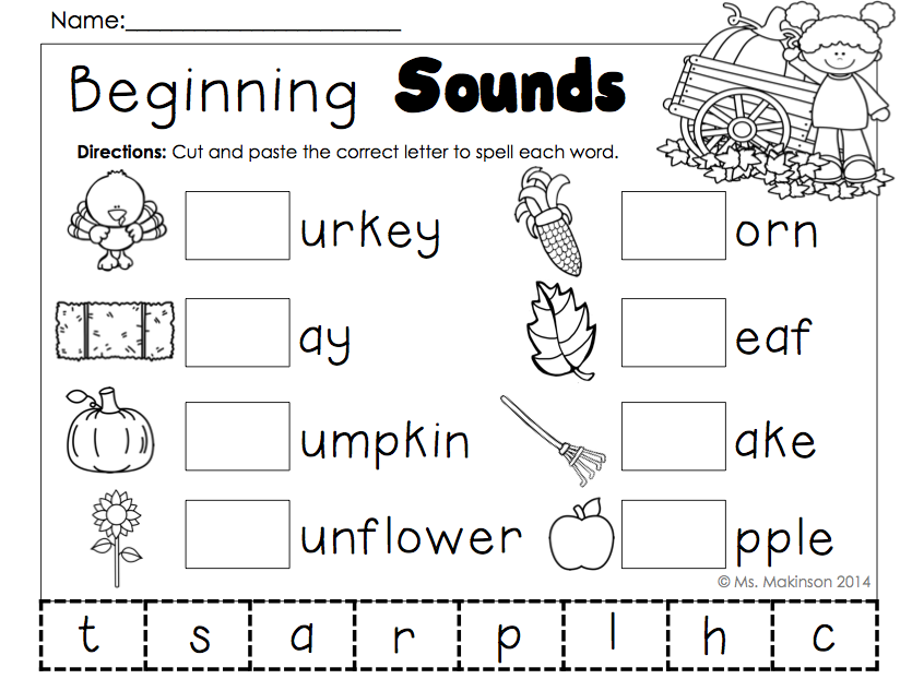November Printables Kindergarten Literacy And Math Thanksgiving Kindergarten Kindergarten Reading Kindergarten Reading Worksheets