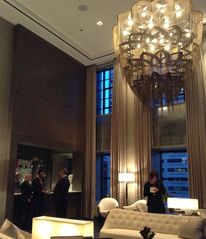 Noir Blanc Interiors At The The Ritz Carlton Residences Chicago