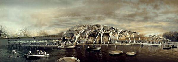 #TheMuseumOfTheSea #MuseumOfTheSea #architecture (concept by #PaulNicholls)