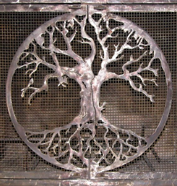 art mural arbre de vie par summerskycreations sur etsy arbres pinterest arbre de vie. Black Bedroom Furniture Sets. Home Design Ideas