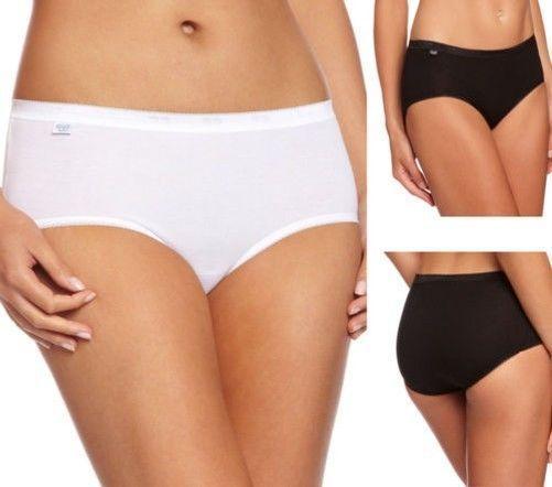 3 Pairs Ladies 100/% Cotton Comfort Bikini Briefs Knickers Panties 10//12 to 18//20
