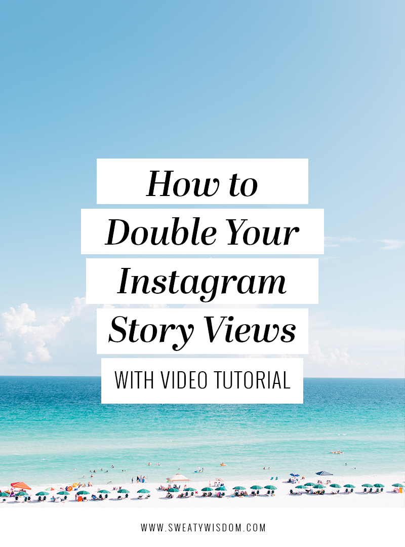 How to Double Your Instagram Story Viewers | Bloggers Supporting