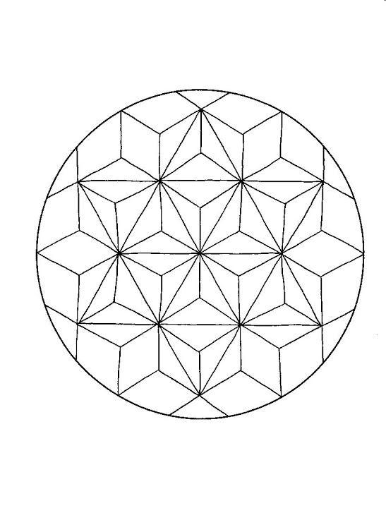 Mandala g om trie mandala mandalas coloriage diy mandala coloriage mandala mandala et - Coloriage geometrique ...
